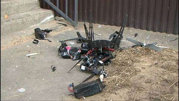 drone octocopter