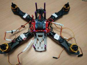 En réduction: Drone gear2play | Composition