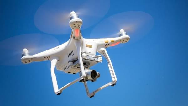 drone qui film