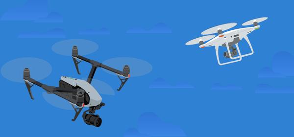 drone geant camera