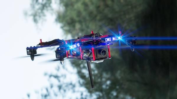 drone 1 km