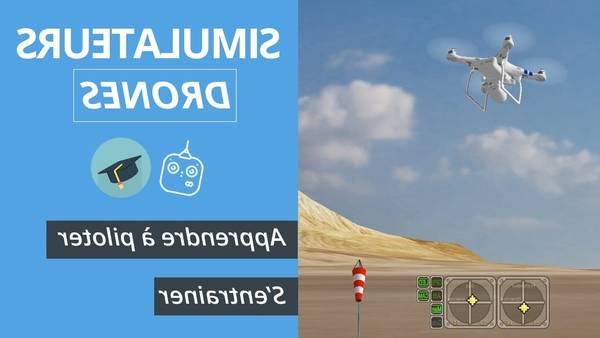drone maintient altitude